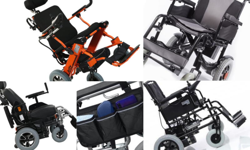 Hafif Akülü Tekerlekli Sandalyeler