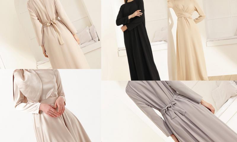 Uzun Elbise Modası Herkese Yakışıyor