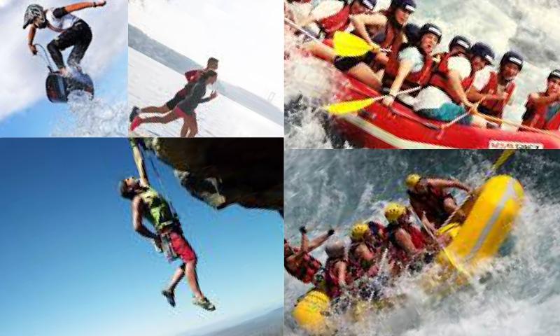 Türkiye'de Extrem Spor Yapılabilecek Yerler